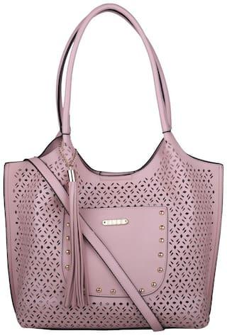 ELLE Women's Tote Handbag Pink - E385PNK