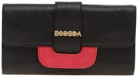 Esbeda Women Black PU Wallet