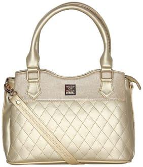 Esbeda Gold PU Handheld Bag