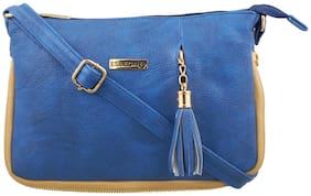 Regular Sling Bag ( Blue )
