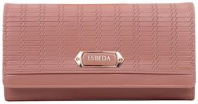 Esbeda Women Pink PU Wallet