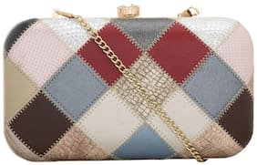 Esbeda Women Multi PVC Clutch