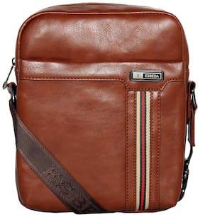 Esbeda 2 ltr Brown Pu Sling bag