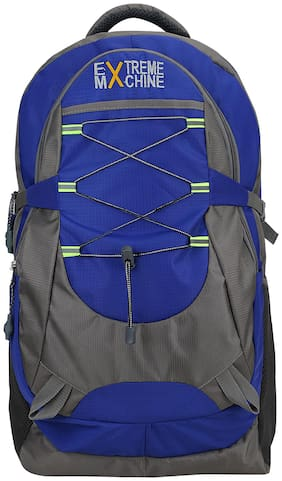 EXTREME MACHINE 40L-BLUE Waterproof Laptop Backpack