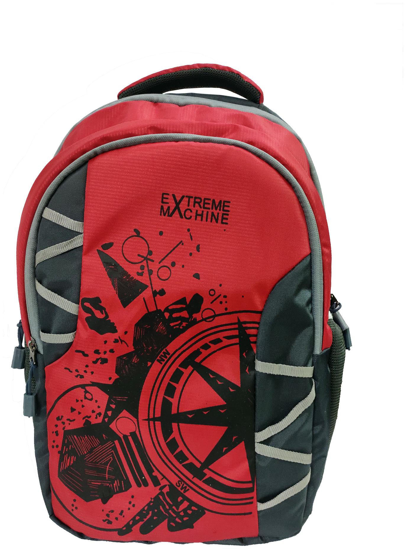 EXTREME MACHINE 32L Red Waterproof Laptop Backpack