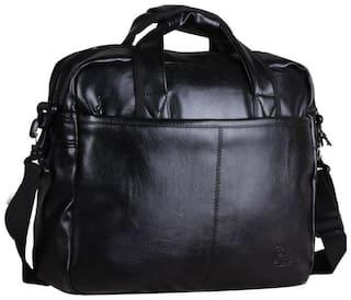 F Gear Black Waterproof Synthetic Backpack