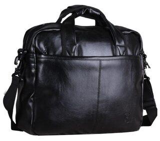 F Gear Aristo Black Laptop Bag