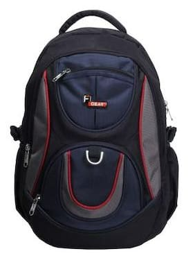 F Gear Axe 29 Ltrs Casual Laptop Backpack (1860) - Navy Blue