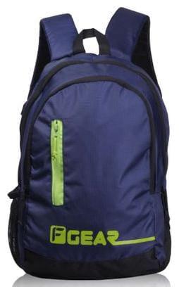 F Gear Blue Waterproof Polyester Backpack