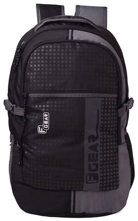 F Gear Blow Laptop Backpack With Rain Cover 32 Liters (Black 1ece41f3d6924