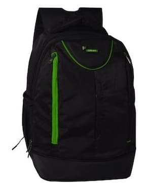 F Gear Booster V2 Polyester 27 Ltrs Green Laptop Backpack (2590)