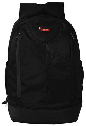 F Gear Booster V2 43 Liters Laptop Backpack Sch Bag(Black)