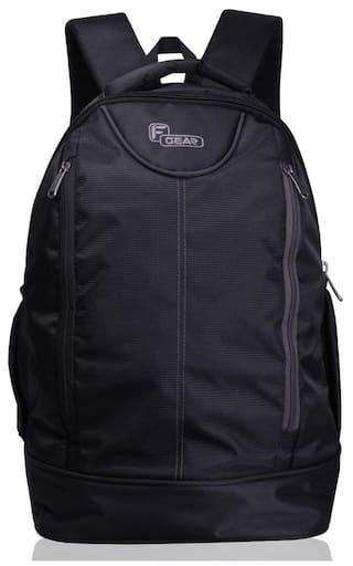 F Gear Booster Lite 32 Ltrs Grey Laptop Backpack (2443)