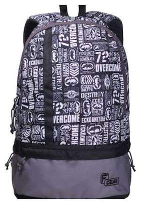 F Gear White Waterproof Polyester Backpack