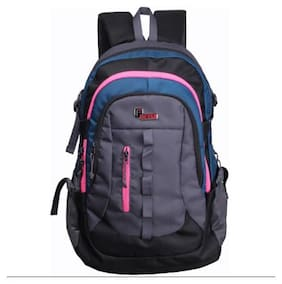 F Gear Blue Waterproof Polyester Backpack