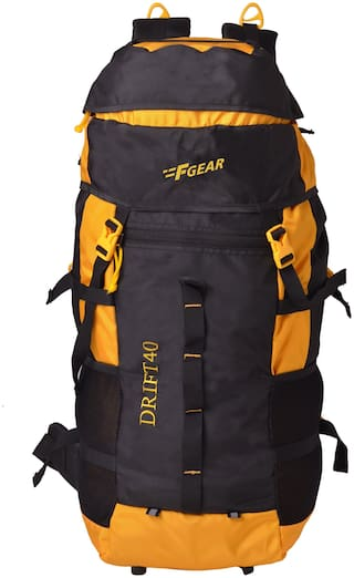F Gear Rucksack Yellow