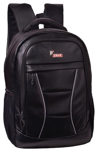 F Gear President Lite Black 25 liter Laptop Backpack
