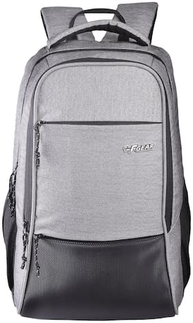 F Gear Raider Guc Grey Waterproof Backpack