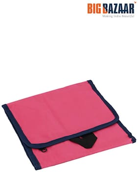 Familiz Tri-fold Toilet Kit Bag (pink)