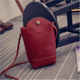 Fashion Women's Mini Purse Bucket Phone Bag