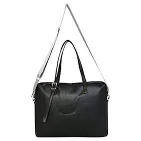 Fastrack Women Polyester Handheld Bag Black