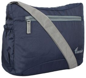 Favria Men & Women Messenger & Sling Bag- Navy