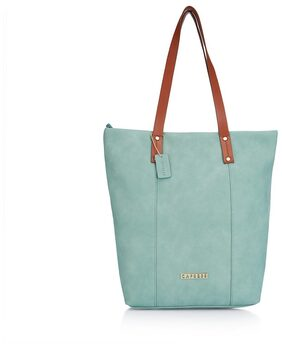 CAPRESE Women Faux Leather Tote Bag - Blue