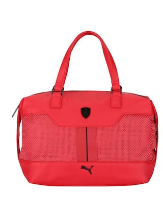 Buy Puma Women Faux Leather Others Handheld Bag - Red Online at Low ... 99481f4bd65f3
