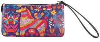 Fiona Trends Multicolor Blue Horse Design Travel bags For Women
