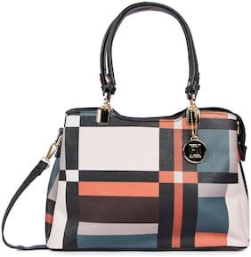 FIONA TRENDS Multi PU Handheld Bag