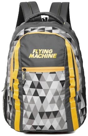 Flying Machine Multi Canvas Backpack