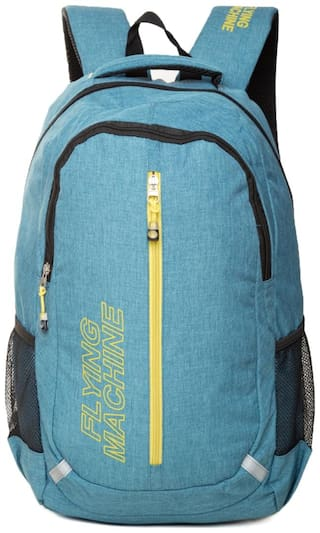 Flying Machine Unisex Lap Top Backpack
