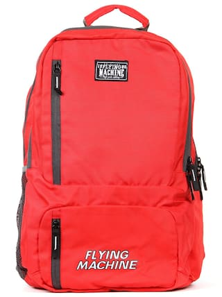 5dc914b25936 Buy Flying Machine Unisex Laptop Backpack Online at Low Prices in ...