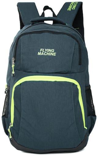 Flying Machine Unisex Lap Top Backpack