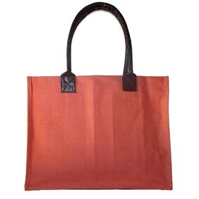 Foonty Women Solid Fabric - Tote Bag Pink