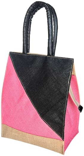 Foonty Women Solid Fabric - Tote Bag Multi
