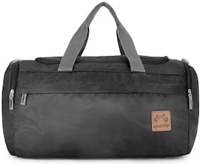 Footloose Polyester 51 cms Black Travel Duffle (Maddox)