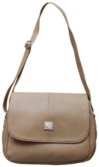 Fostelo Beige Sling Bag (10 Piece)