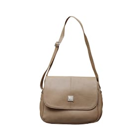 Fostelo Beige Sling Bag (15 Piece)