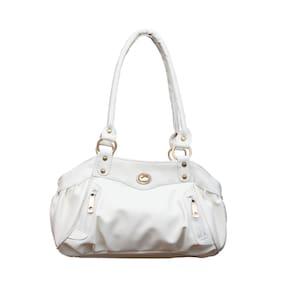 Fostelo Elite Swann White Handbag (20 Piece)