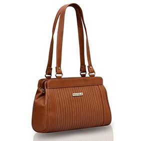 Fostelo Women's Handbag Tan (fsb-387)