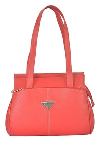 4952e3b5b1 Buy FOSTELO Women Synthetic Handheld Bag - Red Online at Low Prices ...