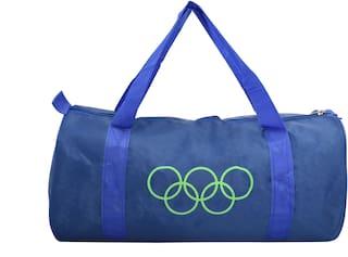 Frazzer Polyester Men Gym bag - Blue