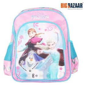 Frozen Trio Pink And Blue Backpack 35.56 cm (14 inch) (Multi) 6e853f42396e3