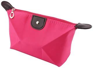 Futaba Fashion Travel Cosmetic Pouch - Pink