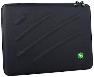 Gecko Black Polyester Laptop backpack