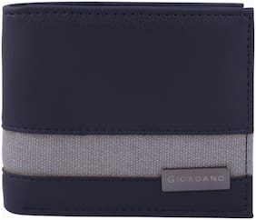 Giordano Women Blue PU Wallet