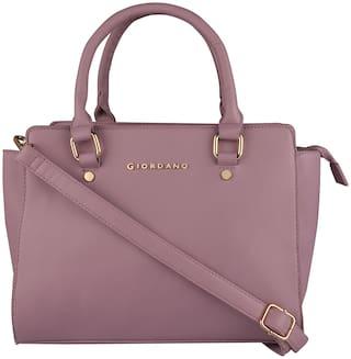 Giordano Pu Women Satchel - Pink