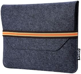 Gizga Felt Laptop Sleeve 15.6 Inch Macbooks / Laptops / Notebooks Carry Cover Case (Slate Grey)