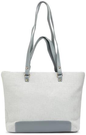 Globus Light Grey Shopper Bag